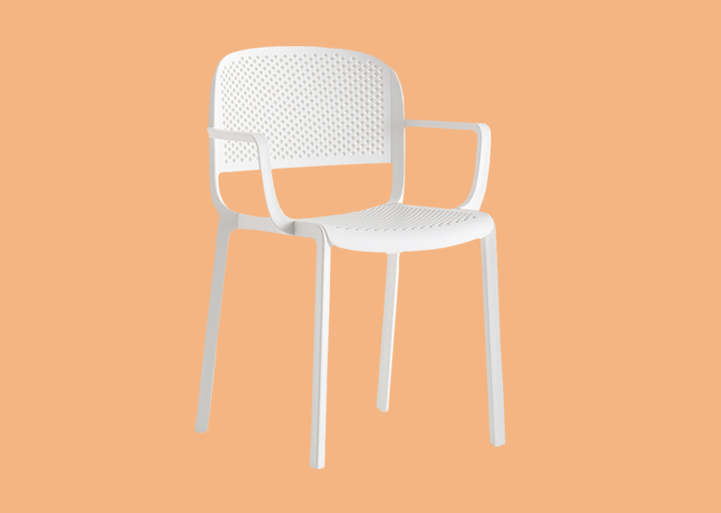 Chairs made of plastic